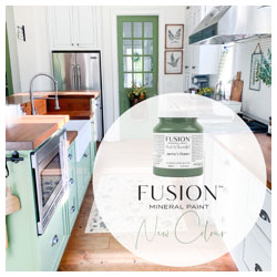 Jenny's Green Fusion Mineral Paint 2